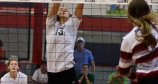 Sydney Riggs (13) and the Prosper Eagles were in shutdown mode on Tuesday night, taking down Lovejoy in four.