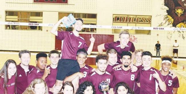 Red Oak state boys vb champs
