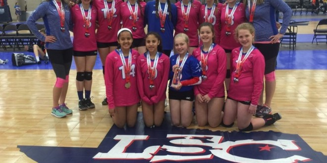 LoneStar Volleyball 12Elite