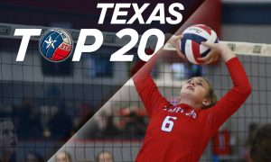 Texas Top 20 HS high school volleyball rankings