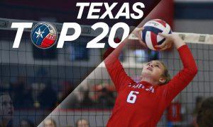 Texas Top 20 HS high school volleyball rankings